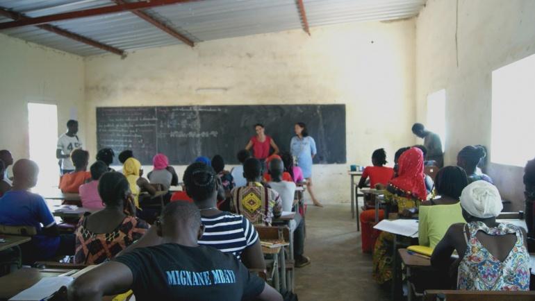 Premières interventions dans les classes !