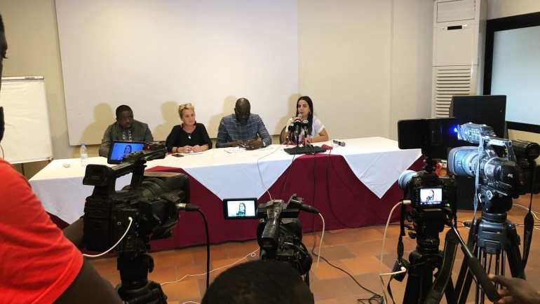 Conférence de presse Nio Far à Dakar